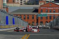 BALTIMORE - AUGUST 31: JR  Hildebrand during Practice for the IZOD IndyCar Series  Baltimore Grand Prix at the Baltimore Temporary Street Course on August 31 , 2012 in Baltimore, Maryland. 08/31/12. (Ryan Lasek/Eclipse Sportswire)
