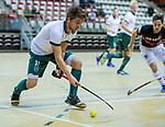 Almere - Zaalhockey  Amsterdam-Rotterdam (m)  . Timo Goor (R'dam)    TopsportCentrum Almere.    COPYRIGHT KOEN SUYK