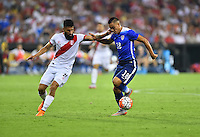 Washington D.C. - Friday, September 4, 2015: The USMNT play Peru in an international friendly game at RFK stadium.