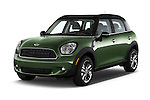 2015 MINI Countryman Base 4 Door Hatchback Angular Front stock photos of front three quarter view