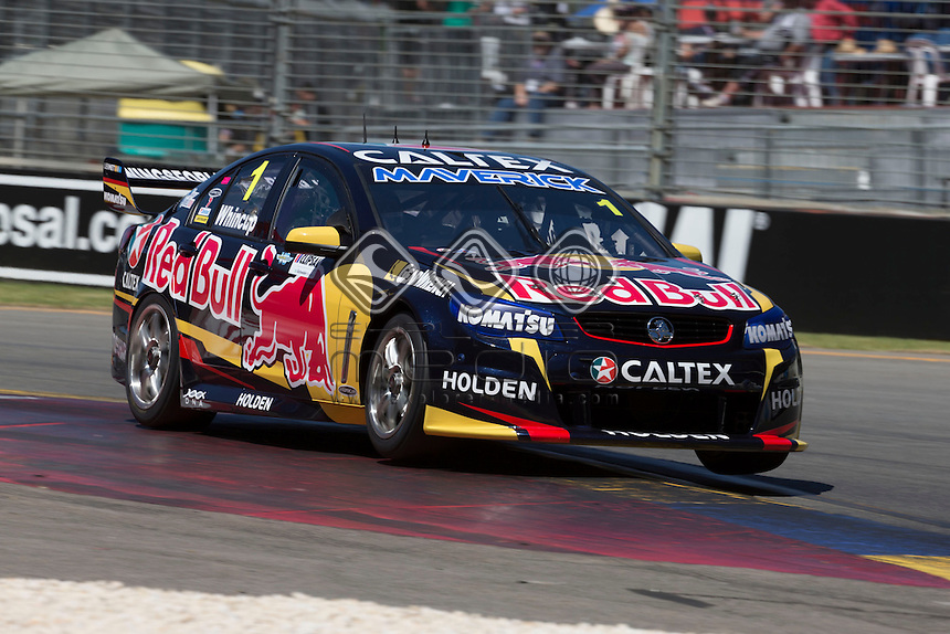 Jamie Whincup of Red Bull Racing Australia during the Clipsal 500, Event 01 of the 2014 Australian V8 Supercars Championship Series at the , , , February 28, 2014.<br /> &copy; Sport the library / Mark Horsburgh