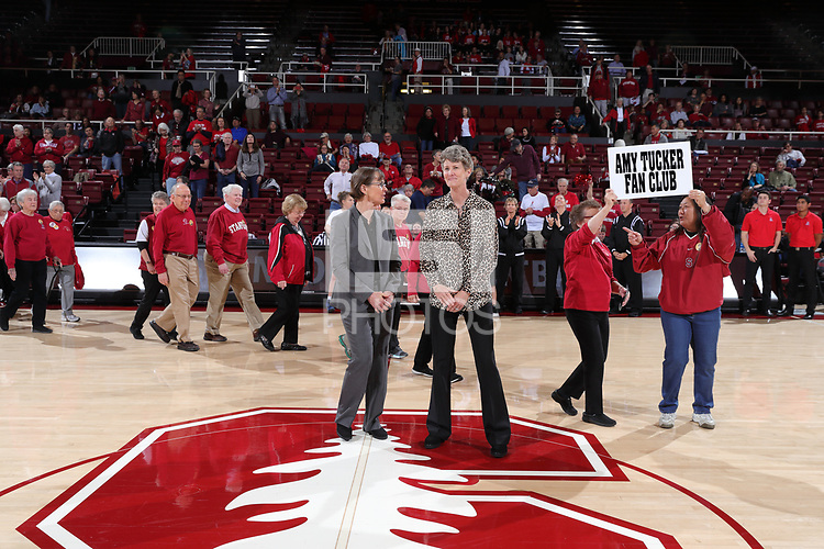 STANFORD, CA - January 28, 2018: Stanford Women's Basketball defeats Arizona, 79-42 at Maples Pavilion.