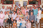 The Big four O EOT.--------------.John Kerins(seated centre)from Mitchells Court Tralee,had his 40th birthday bash in the John Mitchells GAA clubhouse JohnJoe Sheehy Rd Tralee last Saturday night,with him were his wife Helen,daughter Saoirse and many family and friends.   Copyright Kerry's Eye 2008