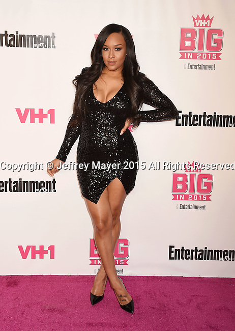 WEST HOLLYWOOD, CA - NOVEMBER 15: TV personality Shaunie O'Neal attends VH1 Big In 2015 With Entertainment Weekly Awards at Pacific Design Center on November 15, 2015 in West Hollywood, California.