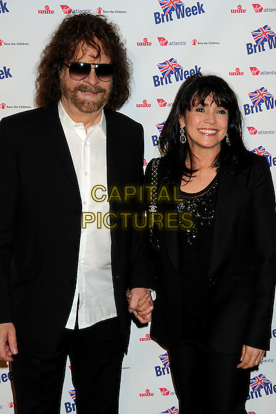 "GUESTS.BritWeek 2010 Charity Event: ""Save The Children and Virgin Unite"" held at the Beverly Wilshire Hotel, Beverly Hills, California, USA, 22nd April 2010..half length beard facial hair sunglasses sunglasses white shirt black jacket top holding hands .CAP/ADM/BP.©Byron Purvis/AdMedia/Capital Pictures."