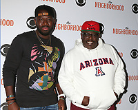 """LOS ANGELES - NOV 18:  Sheaun McKinney, Cedric the Entertainer at the The Neighbohood Celebrates the """"Welcome to Bowling"""" Episode at Pinz Bowling Alley on November 18, 2019 in Studio City, CA"""