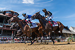 August 1, 2020: IMPROBABLE #2, ridden by Jose Ortiz, trained by Bob Baffert wins the Witney on Whitney Day at Saratoga Race Course in Saratoga Springs, New York. Rob Simmons/CSM