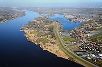 Deichvorland Overhaken: EUROPA, DEUTSCHLAND, HAMBURG 08.03.2014: Deichvorland Overhaken