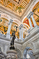 Washington DC  Library of Congress interior