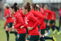 Italy during the warm up<br /> Castel di Sangro 12-11-2019 Stadio Teofolo Patini <br /> Football UEFA Women's EURO 2021 <br /> Qualifying round - Group B <br /> Italy - Malta<br /> Photo Cesare Purini / Insidefoto