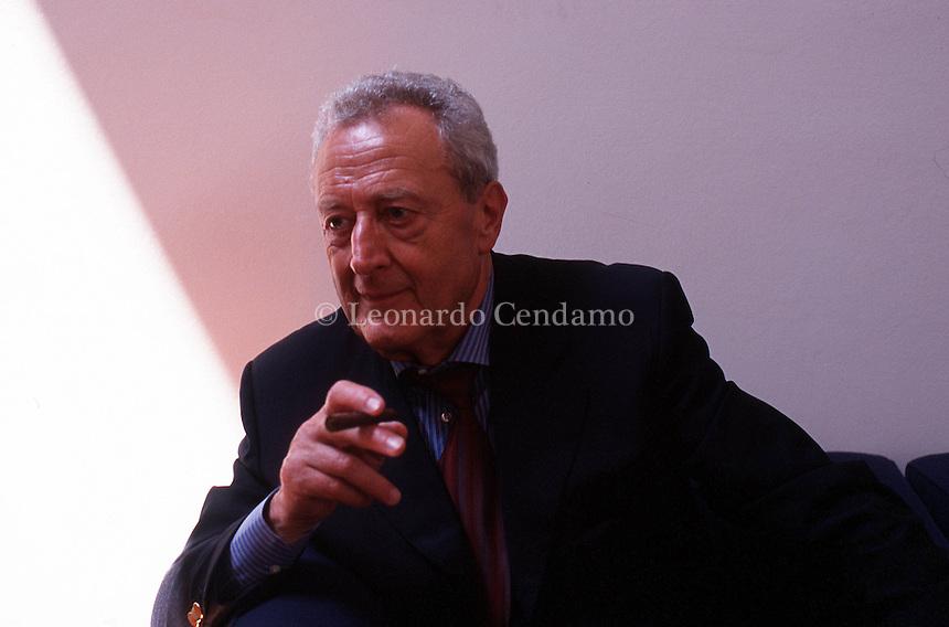 2000: LORENZO MONDO, WRITER © Leonardo Cendamo