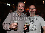 Tim Donnelly and Oliver Brady at St Colmcilles Movember event in the d hotel. Photo:Colin Bell/pressphotos.ie