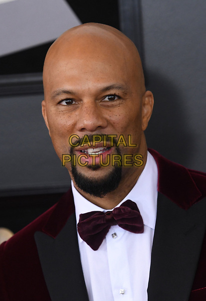 NEW YORK, NY - JANUARY 28: Common at the 60th Annual GRAMMY Awards at Madison Square Garden on January 28, 2018 in New York City. <br /> CAP/MPI/JP<br /> &copy;JP/MPI/Capital Pictures