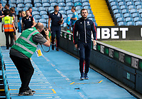 Stoke City manager Nathan Jones arrives at Elland Road<br /> <br /> Photographer Alex Dodd/CameraSport<br /> <br /> The Carabao Cup Second Round- Leeds United v Stoke City - Tuesday 27th August 2019  - Elland Road - Leeds<br />  <br /> World Copyright © 2019 CameraSport. All rights reserved. 43 Linden Ave. Countesthorpe. Leicester. England. LE8 5PG - Tel: +44 (0) 116 277 4147 - admin@camerasport.com - www.camerasport.com