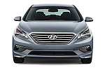 Car photography straight front view of a 2015 Hyundai Sonata 2.4 Auto Limited 4 Door Sedan
