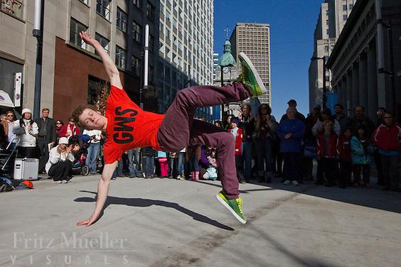 Yukon Urban Dance Ensemble takes it to the streets in Vancouver