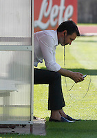 Napoli Calcio ritiro precampionato a Dimaro ( TN)  18 Luglio 2014<br /> nella foto  Riccardo Bigon