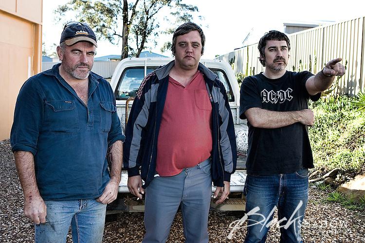 Cosmic Psychos promo shots, Bendigo , 2007