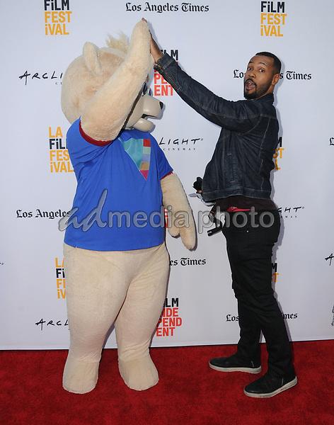 """16 June 2017 - Hollywood, California - Brigsby Bear, Isaiah Mustafa. LA Film Festival screening of """"Brigsby Bear"""" held at ArcLight Hollywood in Hollywood. Photo Credit: Birdie Thompson/AdMedia"""
