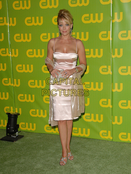 GAIL O'GRADY.The CW Launch Party held at Warner Brothers' Studios in Burbank, California, USA..September 18th, 2006.Ref: DVS.full length pink satin dress wrap.www.capitalpictures.com.sales@capitalpictures.com.©Debbie VanStory/Capital Pictures
