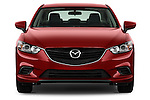 Straight front view of a 2014 Mazda Mazda6 i Touring Sedan