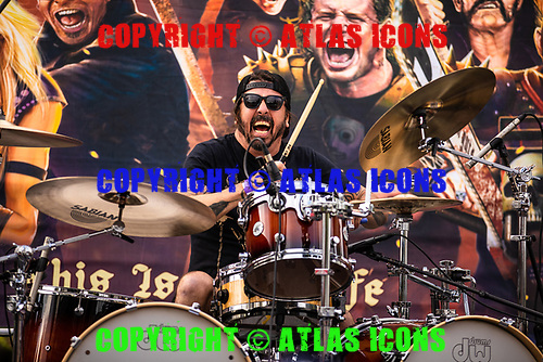Dave Grohl; Ride For Ronnie James Dio; 2019; Live<br /> Photo Credit: Dave Blass\AtlasIcons.com