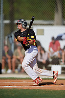 Ethan Cloyd during the WWBA World Championship at the Roger Dean Complex on October 19, 2018 in Jupiter, Florida.  Ethan Cloyd is a catcher from Bakersfield, California who attends Dunn High School and is committed to California.  (Mike Janes/Four Seam Images)