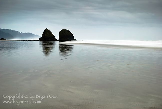 Sea stacks, Cannon beach, Oregon