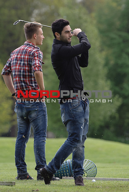 12.05.2012, Golfplatz Garlstedt, Garlstedt, GER, Charity Golf Cup 2012 Werder Bremen, im Bild Mehmet Ekici (Bremen #20)<br /> <br /> // on 2012/05/12, Golfplatz Garlstedt, Garlstedt, Germany.<br /> Foto &copy; nph / Frisch *** Local Caption ***