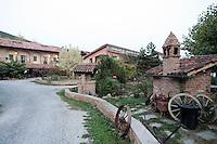 L'esterno dell'agriturismo Cascina del Monastero, ad Annunziata, frazione di La Morra, in Piemonte.<br /> Exterior of the Cascina del Monastero farm holidays in Annunziata, frazione di La Morra, Piedmont.<br /> UPDATE IMAGES PRESS/Riccardo De Luca