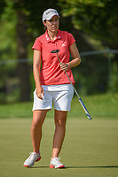 Carlota Ciganda (ESP) watches her putt on 1 during round 4 of the 2018 KPMG Women's PGA Championship, Kemper Lakes Golf Club, at Kildeer, Illinois, USA. 7/1/2018.<br /> Picture: Golffile | Ken Murray<br /> <br /> All photo usage must carry mandatory copyright credit (&copy; Golffile | Ken Murray)