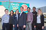 Dealz Fonthill Road .   , Ian Kendellen Store Manager with some of his Team .