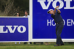Peter Lawrie (IRL) in action on the 13th tee during the Final Day of the Open de Espana at Real Club De Golf El Prat, Terrasa, Barcelona, 8th May 2011. (Photo Eoin Clarke/Golffile 2011)