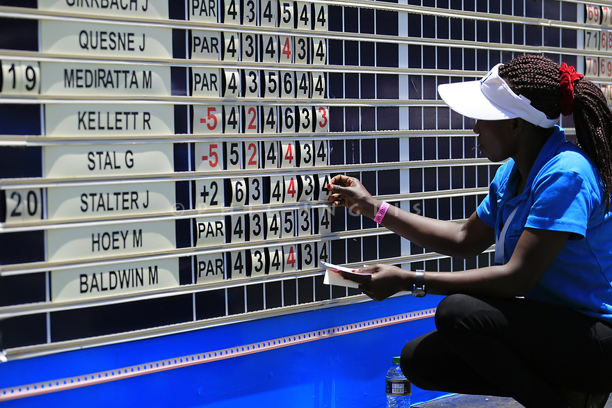 Jo&euml;l Stalter (FRA) during the third round of the Barclays Kenya Open played at Muthaiga Golf Club, Nairobi, Kenya 22nd - 25th March 2018 (Picture Credit / Phil Inglis) 22/03/2018<br /> <br /> <br /> All photo usage must carry mandatory copyright credit (&copy; Golffile | Phil Inglis)