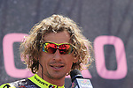 Filippo Pozzato (ITA) Wilier Triestina-Selle Italia at sign on in Arbatax before the start of Stage 3 of the 100th edition of the Giro d'Italia 2017, running 148km from Tortoli to Cagliari, Sardinia, Italy. 7th May 2017.<br /> Picture: Eoin Clarke | Cyclefile<br /> <br /> <br /> All photos usage must carry mandatory copyright credit (&copy; Cyclefile | Eoin Clarke)