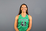 DENTON, TX - OCTOBER 17: North Texas Mean Green women's basketball on October 17, 2019 in Fort Worth, Texas. (Photo by Rick Yeatts/Getty Images)