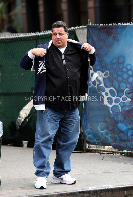 WWW.ACEPIXS.COM....October 17 2012, New York City....Actor Steve Schirripa walks around Chelsea on October 17 2012 in  New York City....By Line: Zelig Shaul/ACE Pictures......ACE Pictures, Inc...tel: 646 769 0430..Email: info@acepixs.com..www.acepixs.com