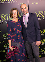 VANCOUVER, BC - OCTOBER 22: Paul Blackthorne at the 100th episode celebration for tv's Arrow at the Fairmont Pacific Rim Hotel in Vancouver, British Columbia on October 22, 2016. Credit: Michael Sean Lee/MediaPunch