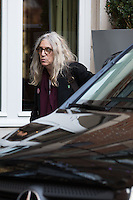 Patti Smith pictured arriving at her hotel in Brussels - EXCLU - Belgium