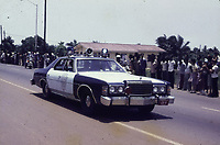 State visit of US President Jimmy Carter and wife<br />  Monrovia, Liberia, 1978<br /> <br /> Special  police car