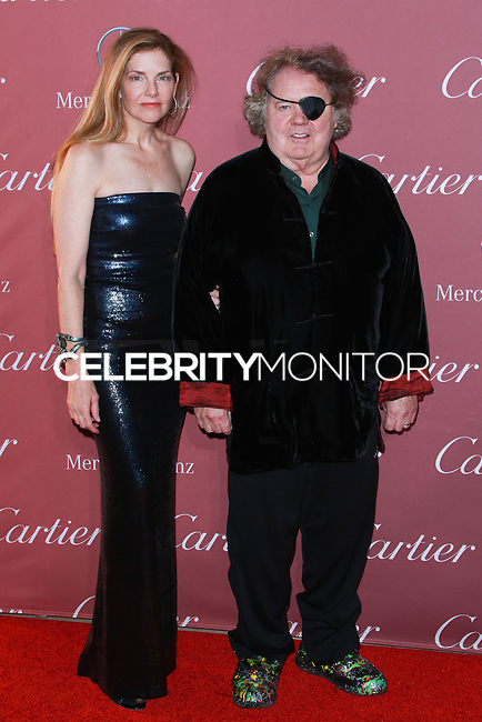 PALM SPRINGS, CA, USA - JANUARY 03: Leslie Chihuly, Dale Chihuly arrive at the 26th Annual Palm Springs International Film Festival Awards Gala Presented By Cartier held at the Palm Springs Convention Center on January 3, 2015 in Palm Springs, California, United States. (Photo by David Acosta/Celebrity Monitor)