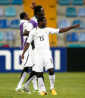 Ghana's Kennedy Ashia (F) celebrate his goal during their FIFA U-20 World Cup Turkey 2013 Group Stage Group A soccer match Ghana betwen USA at the Kadir Has stadium in Kayseri on June 27, 2013. Photo by Aykut AKICI/isiphotos.com