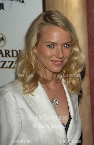 Actress NAOMI WATTS at party in Hollywood for Premiere magazine's Premiere The New Power issue..June 2, 2004