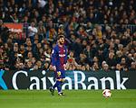 Messi FC Barcelona 2 v 0 Espanyol, 1/4 de final en la vuelta de la Copa de SM El Rey 2018, Estadio Camp Nou, Barcelona. Photo Martin Seras Lima