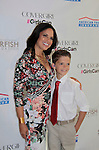 Soledad O'Brien & son Jackson at Soledad O'Brien and Brad Raymond Starfish Foundation presents New Orleans to New York City 2014 Gala on July 24, 2014 at Espace, New York City for VIP Cocktail Reception, dinner, entertainment with Grammy Award winning Trumpeteer Irvin Mayfield (also Board president) and the New Orleans Jazz Orchestra. (Photo by Sue Coflin/Max Photos)