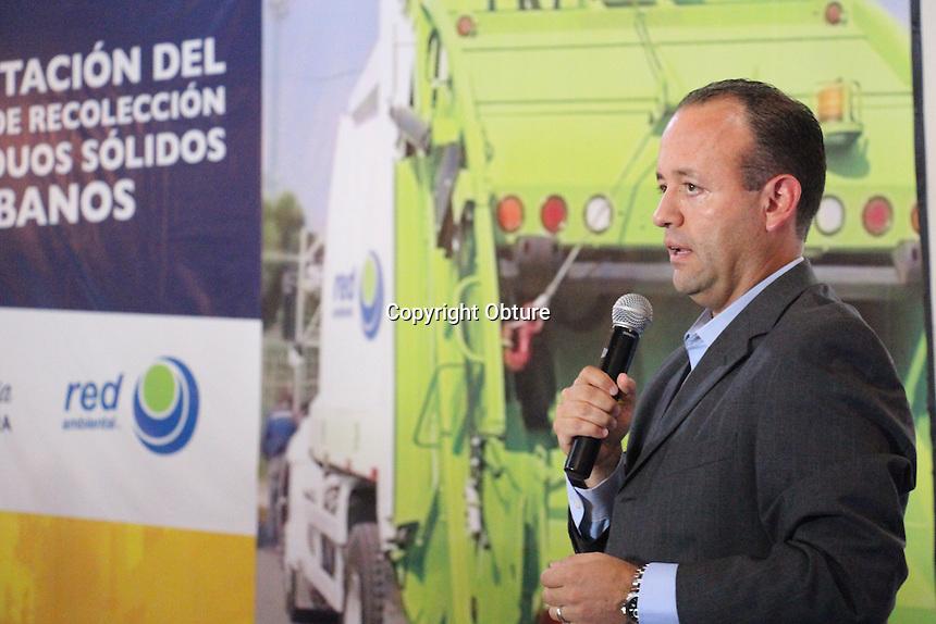 Querétaro, Querétaro 3 de agosto de 2016.- Presentación del sistema de Recolección de Residuos Sólidos Urbanos.