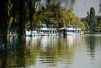 Lakeside in the Herastrau Park, Bucharest, Romania
