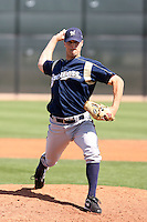 Mike Jones, Milwaukee Brewers 2010 minor league spring training..Photo by:  Bill Mitchell/Four Seam Images.