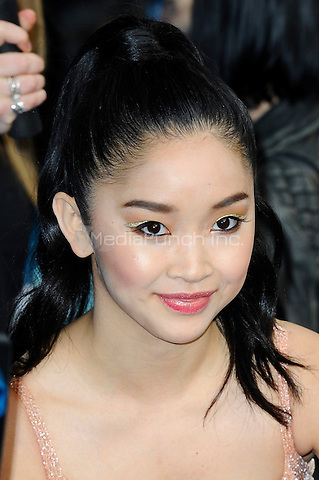 LONDON, ENGLAND - MAY 9: Lana Condor attending the 'X-Men: Apocalypse' - Global Fan Screening at BFI IMAX in London on May 9, 2016 in London, England.<br /> CAP/MAR<br /> &copy; Martin Harris/Capital Pictures /MediaPunch ***NORTH AND SOUTH AMERICAN SALES ONLY***