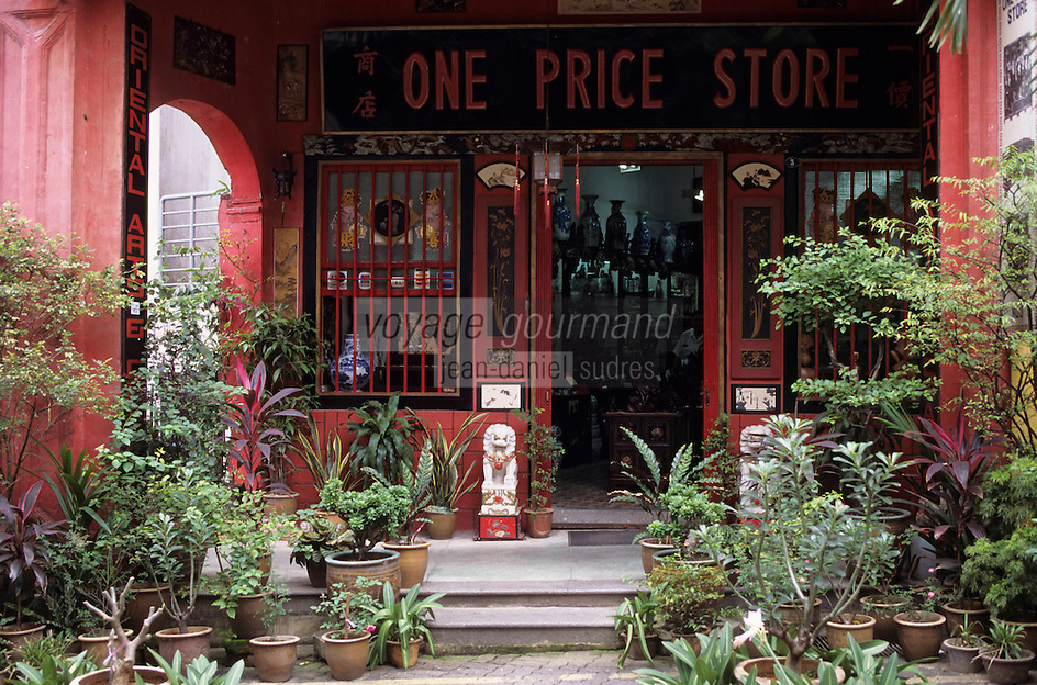 Asie/Singapour/Singapour : Emerald Hill Road - Peranakan House